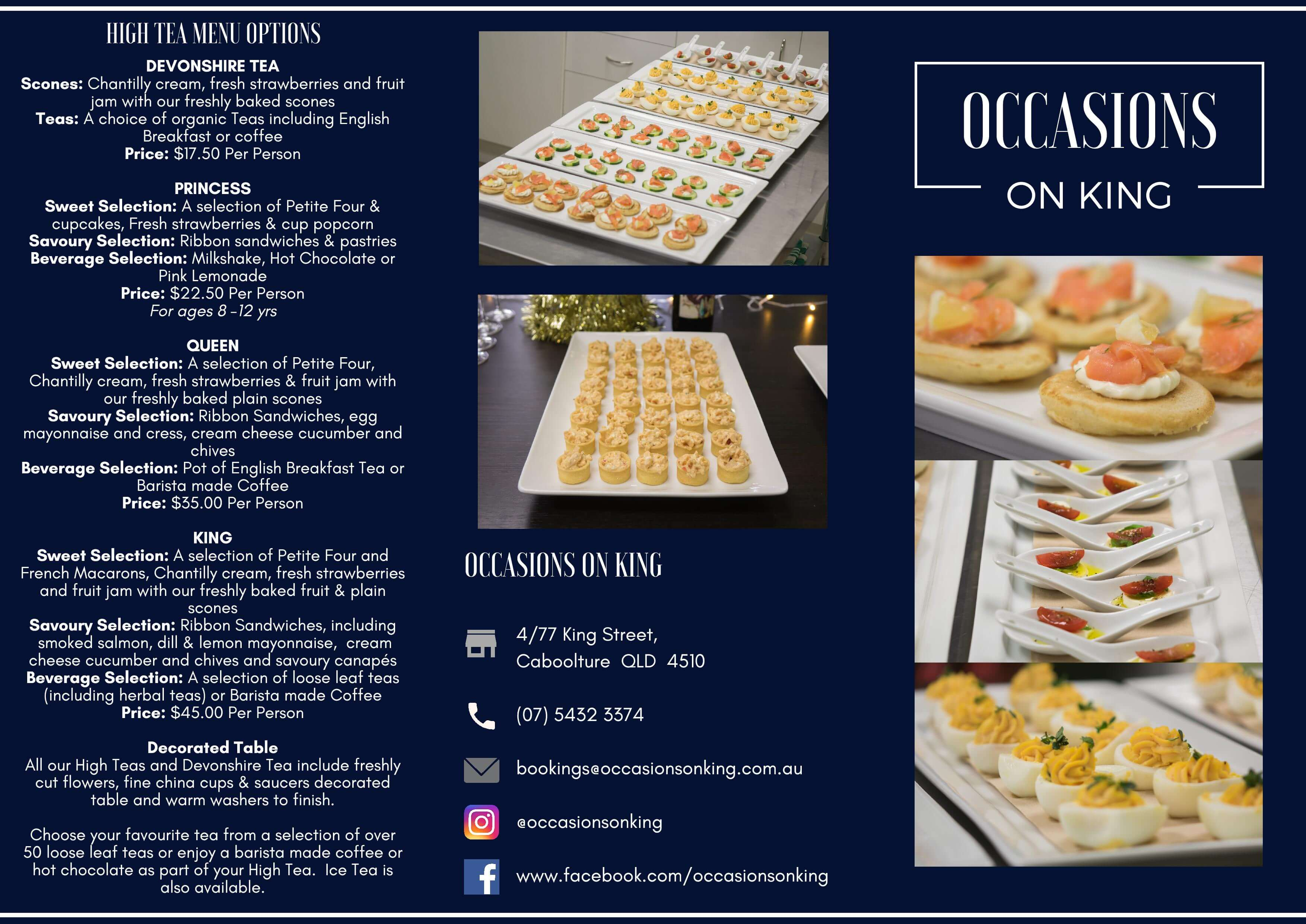 Occasions On King – High Tea Menu Options-page-001